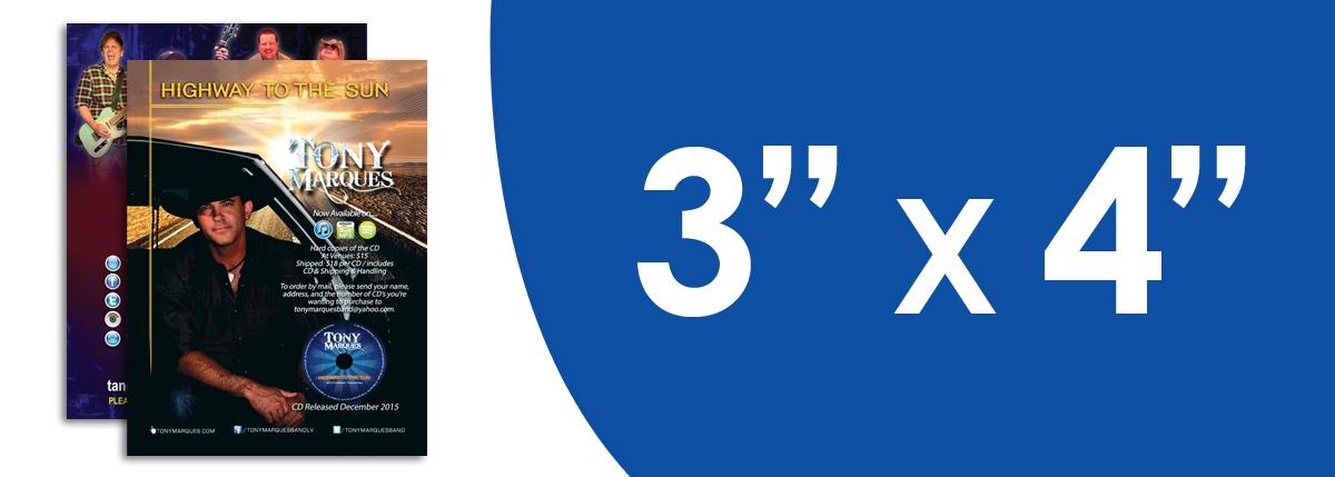 """3"""" x 4"""" Flyers"""