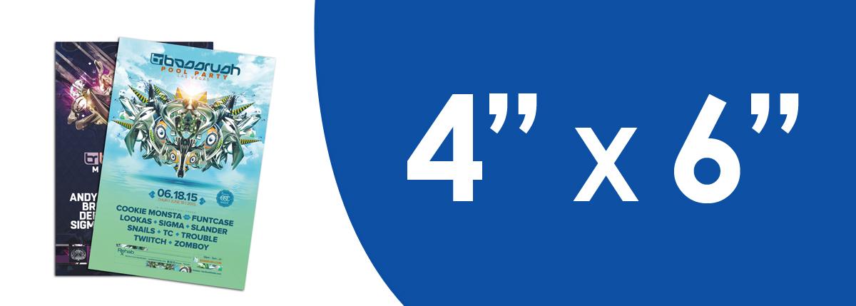 """4"""" x 6"""" Flyers"""
