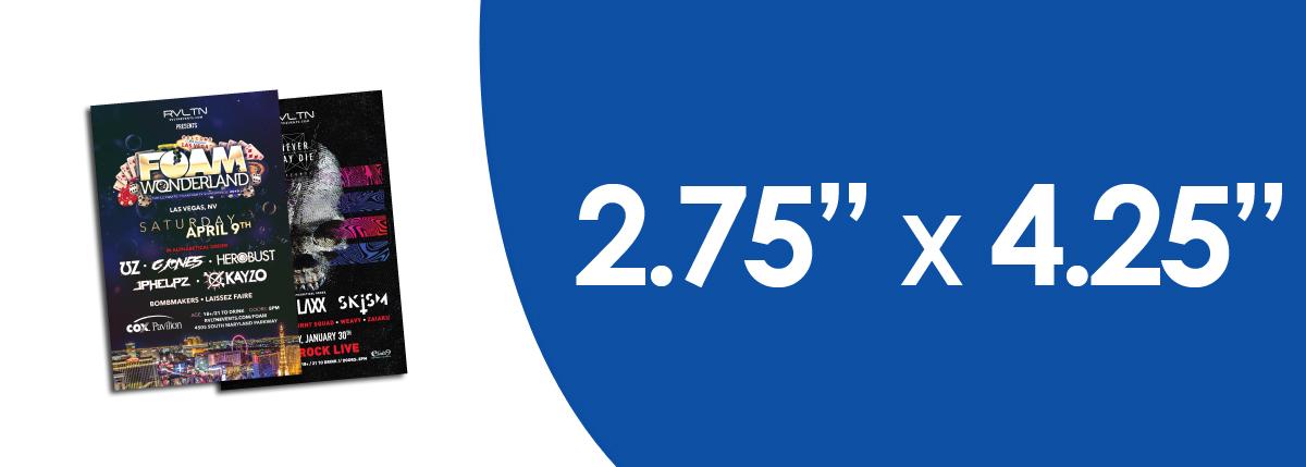 """2.75"""" x 4.25"""" Flyers"""